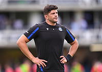 25th September 2021; The Recreation Ground, Bath, Somerset, England; Gallagher Premiership Rugby, Bath versus Newcastle Falcons; Mike Williams of Bath warms up