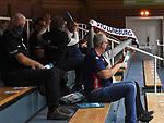 21.11.2020, GER, VBL, SVG Lueneburg vs SWD Powervolleys Dueren, im Bild Feature die wenigen Zuschauer jubeln den Mannschaften zu/Foto © nordphoto/ Witke