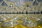 View of wine glasses at wine tasting