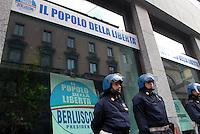 - Milan, one of the new offices of the political party of Silvio Berlusconi People of Freedom, in the city centre....- Milano, una delle nuove sedi del partito politico di Silvio Berlusconi Popolo della Liberà, in centro città
