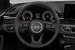 Car pictures of steering wheel view of a 2021 Audi A5-Cabriolet Avus 2 Door Convertible Steering Wheel