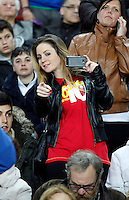 Spain's supporter during international match of the qualifiers for the FIFA World Cup Brazil 2014.March 22,2013.(ALTERPHOTOS/Victor Blanco)