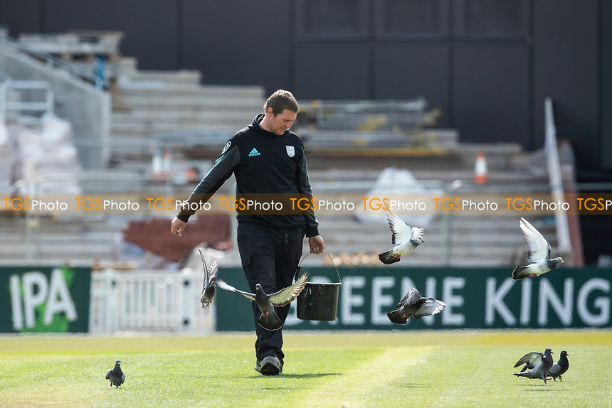 Pre match during Surrey CCC vs Hampshire CCC, LV Insurance County Championship Group 2 Cricket at the Kia Oval on 1st May 2021
