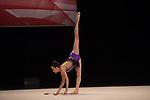 British Gymnastics Championships 2017<br /> Abigail Hanford<br /> Liverpool Echo Arena<br /> 29.07.17<br /> ©Steve Pope - Sportingwales