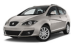 Stock pictures of low aggressive front three quarter view of a 2014 Seat ALTEA XL I-TECH Special 5 Door Mini MPV 2WD Low Aggressive