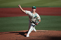 Charlotte 49ers starting pitcher Matt Brooks (41) in action against the Old Dominion Monarchs at Hayes Stadium on April 25, 2021 in Charlotte, North Carolina. (Brian Westerholt/Four Seam Images)