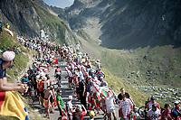 Dylan van Baarle (NED/Ineos) up the Tourmalet (HC/2115m/19km @7.4%)<br /> <br /> Stage 14: Tarbes to Tourmalet(117km)<br /> 106th Tour de France 2019 (2.UWT)<br /> <br /> ©kramon