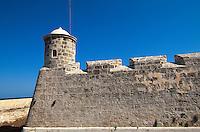 Cuba, Castillo de San Salvador de la Punta in Habana