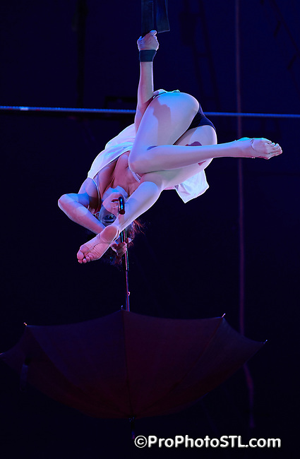 """Circus Flora 2017 """"Time flies"""" show in St. Louis, Missouri on May 31, 2017."""