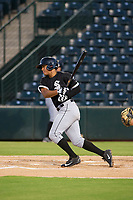 AZL White Sox second baseman Lenyn Sosa (13) at bat against the AZL Angels on August 14, 2017 at Diablo Stadium in Tempe, Arizona. AZL Angels defeated the AZL White Sox 3-2. (Zachary Lucy/Four Seam Images)