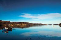Fishing trawler, Loch Shieldaig, Shieldaig, Ross & Cromarty, Northwest Highlands