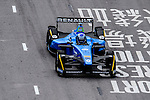 Nico Prost of Renault E.Dams team during the first stop of the FIA Formula E Championship HKT Hong Kong ePrix at the Central Harbourfront Circuit on 9 October 2016, in Hong Kong, China. Photo by Marcio Rodrigo Machado / Power Sport Images