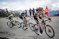 Steven Kruijswijk (NED/Jumbo-Visma) up the finale towards La Plagne (HC/2072m/17.1km@7.5%) <br /> <br /> 73rd Critérium du Dauphiné 2021 (2.UWT)<br /> Stage 7 from Saint-Martin-le-Vinoux to La Plagne (171km)<br /> <br /> ©kramon
