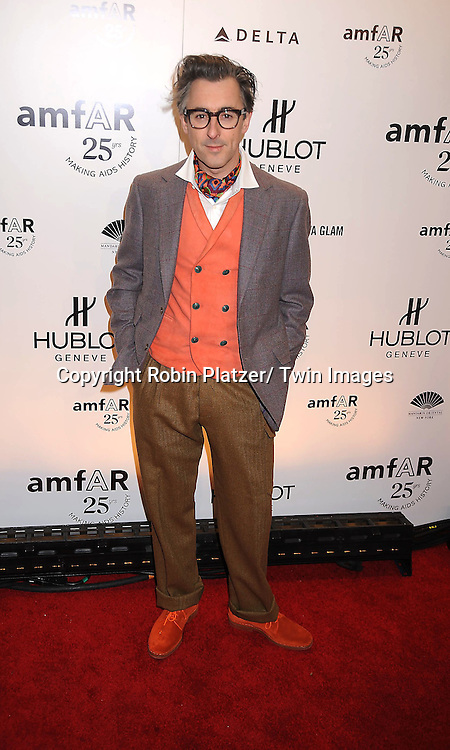 Alan Cumming attending the amfAR New York Gala on February 9, 2011 at Cipriani Wall Street in New York City. Dame Elizabeth Taylor, President Bill Clinton and Diane von Furstenberg were honored.