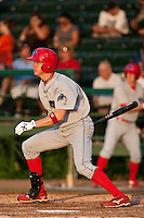 May 6 2010: Korby Mintken (6) of the Clearwater Threshers during a game vs. the Daytona Cubs at Jackie Robinson Ballpark in Daytona Beach, Florida. Clearwater, the Florida State League High-A affiliate of the Philadelphia Phillies, won the game against Daytona, affiliate of the Chicago Cubs, by the score of 8-3.  Photo By Scott Jontes/Four Seam Images