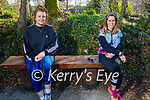 Enjoying a stroll in the Killarney National park on Saturday, l to r: Lisa Brosnan and Aideen O'Sullivan.