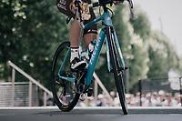 Jan Bakelants (BEL/AG2R-LaMondiale) on the sign-on podium<br /> <br /> 104th Tour de France 2017<br /> Stage 16 - Le Puy-en-Velay › Romans-sur-Isère (165km)