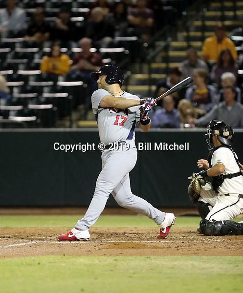 Taylor Gushue - USA Baseball Premier 12 Team - October 25- 28, 2019 (Bill Mitchell)