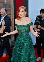 """LOS ANGELES, USA. August 27, 2019: Jessica Chastain at the premiere of """"IT Chapter Two"""" at the Regency Village Theatre.<br /> Picture: Paul Smith/Featureflash"""