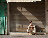 Man on the street, Dubai.