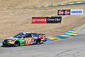 Monster Energy NASCAR Cup Series<br /> Toyota/Save Mart 350<br /> Sonoma Raceway, Sonoma, CA USA<br /> Sunday 25 June 2017<br /> Kyle Busch, Joe Gibbs Racing, M&M's Caramel Toyota Camry<br /> World Copyright: John K Harrelson<br /> LAT Images