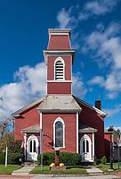 First Baptist Church, Manchester, Vermont, USA.
