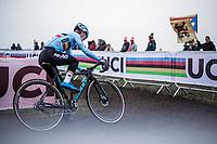 Eli Iserbyt (BEL/Marlux-Bingoal)<br /> <br /> Men's U23 race. <br /> <br /> UCI 2019 Cyclocross World Championships<br /> Bogense / Denmark<br /> <br /> ©kramon