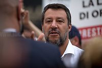 Matteo Salvini MP (Leader of Lega / League party and senator).<br />