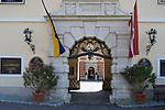 Austria, Lower Austria, UNESCO World Heritage Wachau, Duernstein: old town, Hotel Castle Duernstein