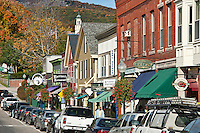 Downtown, Camden, Maine, ME, USA