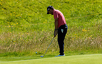140719 | The 148th Open - Sunday Practice<br /> <br /> Louis Oosthuizen on the 12th green during practice for the 148th Open Championship at Royal Portrush Golf Club, County Antrim, Northern Ireland. Photo by John Dickson - DICKSONDIGITAL