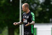 GRONINGEN - Voetbal, Eerste training selectie FC Groningen, seizoen 2021-2022, 26-06-2021, FC Groningen trainer Danny Buijs
