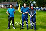 John O'Connor Listowel, Sean and John Minogue Nenagh at the Deerpark P+P Scrathplay Championship on Sunday