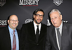 Mark Kaufman, Will Frears and William Goldman attends the Broadway Opening Night Performance of 'Misery' at the Broadhurst Theatre on November 15, 2015 in New York City.