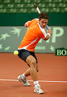 6-2-06, Netherlands, Amsterdam, Daviscup, first round, Netherlands-Russia, training, Jeaae Huta Galung
