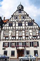 Butzbach: Fachwerk Building.