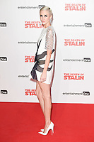 """Andrea Risborough<br /> arriving for the premiere of """"The Death of Stalin"""" at the Curzon Chelsea, London<br /> <br /> <br /> ©Ash Knotek  D3338  17/10/2017"""