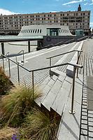 Europe/France/Normandie/76/Seine Maritime/  Le Havre : Le Volcan, d'abord Maison de la Culture (la première créée par André Malraux en 1961), puis scène nationale en 1991, Le Volcan est aujourd'hui une des plus importantes scènes nationales en France , œuvre du célèbre architecte brésilien Oscar Niemeyer  //  Europe / France / Normandy / 76 / Seine Maritime / Le Havre: Le Volcan, first Maison de la Culture (the first created by André Malraux in 1961), then national stage in 1991, Le Volcan is today one of the most important national scenes in France, work of the famous Brazilian architect Oscar Niemeyer