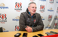 Tuesday 18th February 2020 | Ulster Rugby Media<br /> <br /> Dan Soper during the Ulster Rugby Match Briefing at Kingspan Stadium, Ravenhill Park, Belfast, Northern Ireland. Photo by John Dickson/DICKSONDIGITAL