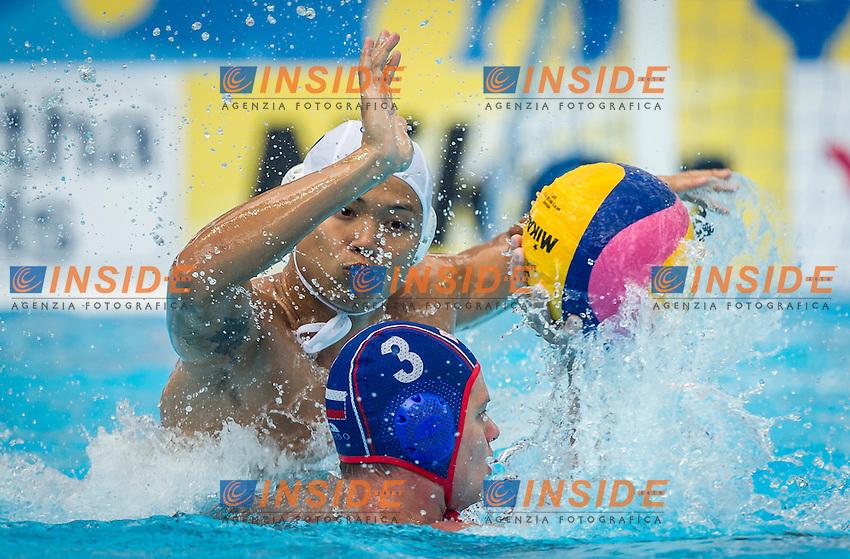 CHN-RUS<br /> China - Russia<br /> ODINTSOV Artem (C) RUS<br /> Day 10 02/08/2015<br /> XVI FINA World Championships Aquatics<br /> Waterpolo<br /> Kazan Tatarstan RUS July 24 - Aug. 9 2015 <br /> Photo Pasquale Mesiano/Deepbluemedia/Insidefoto