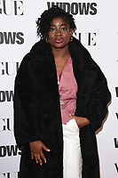 """Clara Amfo<br /> arriving for the """"Widows"""" special screening in association with Vogue at the Tate Modern, London<br /> <br /> ©Ash Knotek  D3457  31/10/2018"""