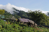 Hütten in den Süd-Ost-Bergen, Santo Antao, Kapverden, Afrika