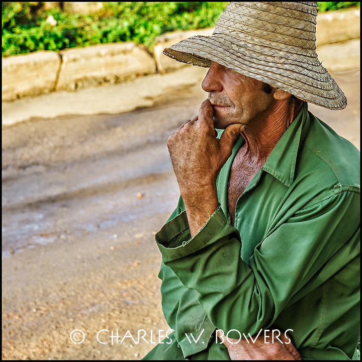 Faces Of Cuba - Making a plan for the day? Thinking of loved ones? Thinking about work?<br />