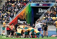 11th October 2020; Sky Stadium, Wellington, New Zealand;  . Bledisloe Cup rugby union test match between the New Zealand All Blacks and Australia Wallabies.