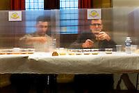 Premiere etape, preselection de six huiles sur quinze