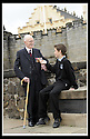 02/06/2008   Copyright Pic: James Stewart.File Name : sct_jspa07_veterans.FORMER ROYAL ENGINEER, LIEUTENANT COLONEL FRANK SAUNDERS, 101, TELLS SOME OF HIS WAR STORIES TO EUAN WEST FROM CORNTON PRIMARY AT THE VETERANS DAY EVENT LAUNCH AT STIRLING CASTLE.....James Stewart Photo Agency 19 Carronlea Drive, Falkirk. FK2 8DN      Vat Reg No. 607 6932 25.Studio      : +44 (0)1324 611191 .Mobile      : +44 (0)7721 416997.E-mail  :  jim@jspa.co.uk.If you require further information then contact Jim Stewart on any of the numbers above........