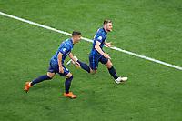 SANKT PETERSBURG 14.06.2021 MECZ I RUNDA GRUPA E MISTRZOSTW EUROPY 2020: POLSKA - SLOWACJA --- FIRST ROUND GROUP E UEFA EURO, EM, Europameisterschaft,Fussball 2020 MATCH IN SAINT PETERSBURG: POLAND - SLOVAKIA LUBOMIR SATKA MILAN SKRINIAR FOT. PIOTR KUCZA/FOTOPYK / NEWSPIX.PL --- Newspix.pl PUBLICATIONxNOTxINxPOL 210614PYK0083 <br /> <br /> Photo Imago/Insidefoto<br /> ITALY ONLY