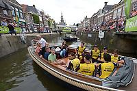 WIELRENNEN: BOLSWARD: BinckBank Tour 12-08-2018, Ploegenpresentatie, Team Lotto Jumbo, ©foto Martin de Jong