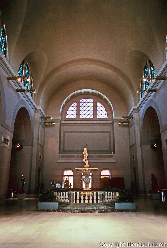 St. Louis: Art Museum, Interior. Photo '83.