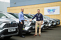 06/09/19<br /> <br /> L/R: Dr Aqib Bhatti (DHU Clinical Director), and Ian Truby-Ware (DHU Head of Clinical Services).<br /> <br /> DHU Health Care take delivery of six Toyota RAV 4 at their Derby offices.<br /> <br /> All Rights Reserved, F Stop Press Ltd +44 (0)7765 242650 www.fstoppress.com rod@fstoppress.com